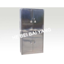 (C-11) Gabinete de aço inoxidável de quatro portas