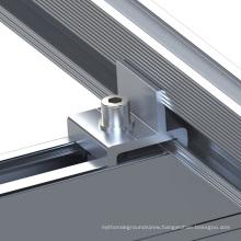 150KW tilt adjustable flat roof solar PV mounting system
