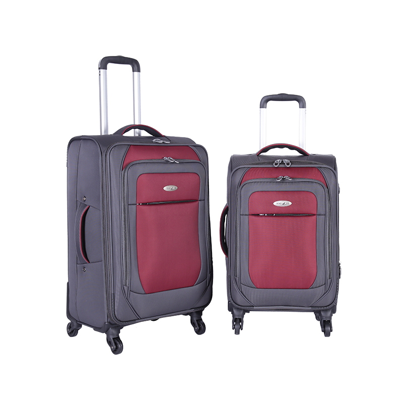 Expandable Unisex Soft Trolley Luggage