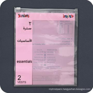 Custom Printed Plastic Zip Lock Packaging Bag