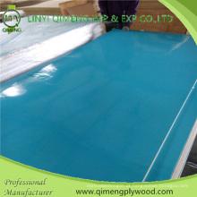 Madeira compensada azul do poliéster de 1220X2440mm 1.6mm 2.2mm 2.6mm para o mercado de Indonésia