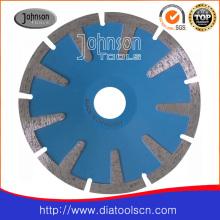 Outil de diamant 125 mm Diamond Sintered Concave Saw Blades