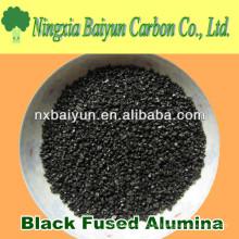 Corindón negro / alúmina fundida negro para pulir y pulir