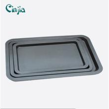 Bandeja de cozimento de biscoito antiaderente de aço carbono revestida com bandejas de cozimento de teflon