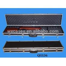 durable aluminum rifle case with foam inside manufacturer black