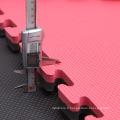 RedBlack Couleur Tournament Style Interlocking Karaté Mats à vendre
