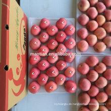 Frische rote Fuji Apfel mittlere Größen