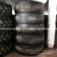 Glatte Reifen für unterirdische Mine L-5s 17.5r25 20.5r25 radiale OTR Gummireifen mit bestem Preis, Schaber Reifen