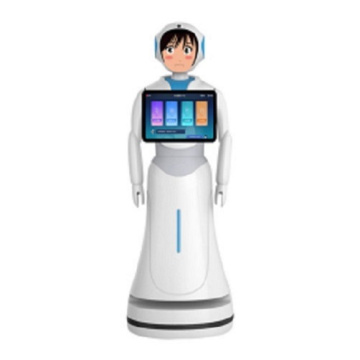 Interaktif dengan People Hotel Robots