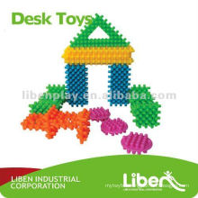 small and Plastic Buliding Block Toys LE-PD002
