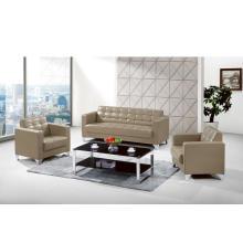 Preço total de venda Sofá-cama reclinável de couro com três lugares