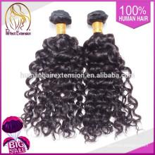 Guangzhou Versorgung Bestnote günstiger Echthaar, geflochtene Brötchen Haarteil für Wift
