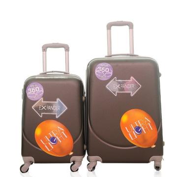Оптовая дешевые АБС мешки багажа перемещения вагонетки чемодана