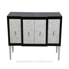 CANOSA High quality low price Chinese freshwater shell inlaid wooden Storage Cabinet