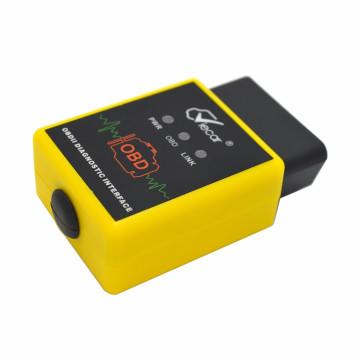 Profesional Viecar Bluetooth conector Auto herramienta de diagnóstico OBD2 para Android y Windows Hh Advanced Elm327 interfaz soporta todos los protocolos Obdii