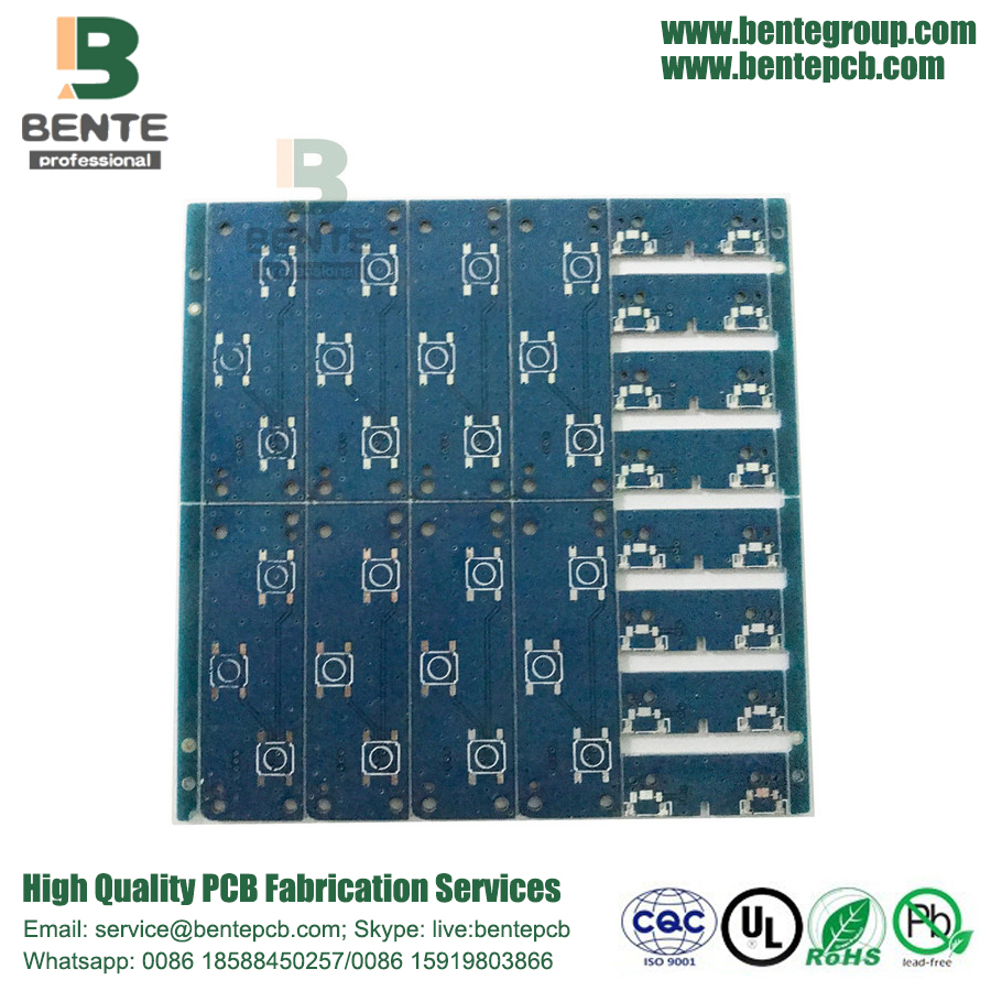 PCB simple de 2 capas Panel doble simple 1oz BentePCB TIN
