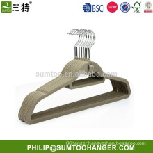 Factory wholesale eco-friendly velvet coat hangers