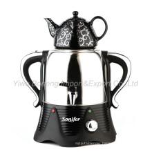 Sf-1901A (black) Turkish Samovar, Electric Kettle, Tea Samovar