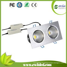 2015 venta caliente 20W COB empotrable LED Downlight