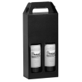 Custom Black Luxury Wine Glass Gift Packaging Boxes