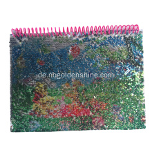 Regenbogen Sequin Magic Notebook Journal