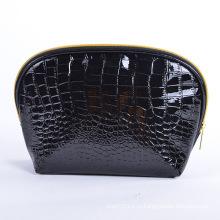 Леди моды черный камень PU косметический клатч для макияжа (YKY7529)