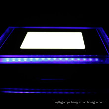 color changing 2 CCT changing led panel light 18w