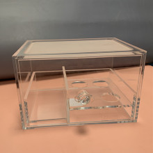 Acrylic Makeup Sponge Storage Holder