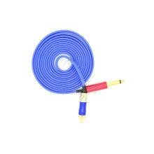 RCA bleu aluminium tendre tatouage Clip Cord