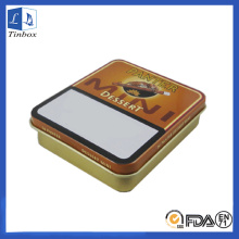 Rectangular Plain Camel Cigarette Tin Box