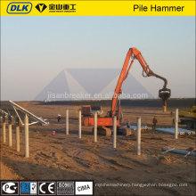 excavator mounted vibro hammer kobelco excavator attachments machinery manufacture ltd