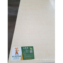 MDF contrachapado comercial de chapa de madera
