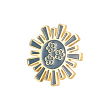 Enamel Lapel Pin Wholesale Metal for Woman Gift Silver Gold Folk GIFTS Collectible Customized