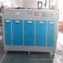 Diseño de fábrica Sistema de control de olores Equipo de oxidación de fotólisis UV