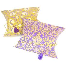 India Wedding food candy packaging Ramadan Mehndi favors, Eid Diwali gift pillow box