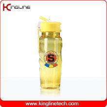 700 ml de garrafa de plástico para esportes sem plástico BPA (KL-B1508)