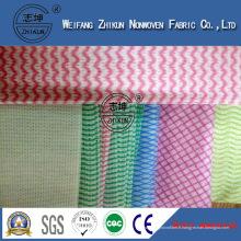 Application imprimée de cuisine nettoyage des lingettes Spunlace tissu non tissé