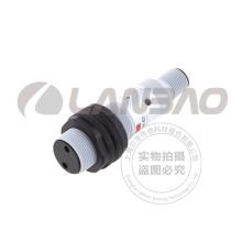 Sensor fotoelétrico reflexivo retro cilíndrico plástico (PR18S-E2 DC3 / 4)