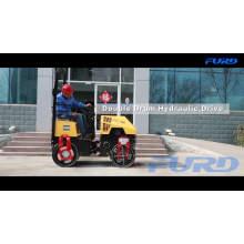 Rouleau de route de vibrateur de compacteur d'asphalte de 1 tonne (FYL-880)