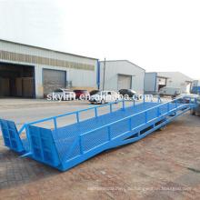 Commodity Regal, Container Ladung und mobile Rampe / Laderampe Rampen