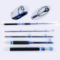 TVR007_5 Fishing Tackle Nano Travel Trolling Fishing Rods
