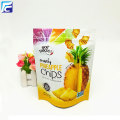 Laminate aluminium food stand up banana chips bags