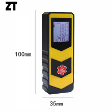 Mini medidor de distancia láser de rango de 30 m para medición