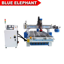 Auto Tool Change 3D Wood Carving CNC Router for Furniture Manufacturing