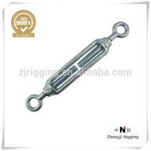 Carbon Steel Electro-Galvanized forged chain connection hook Malleable turnbuckle