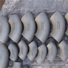 Cotovelo sanitário de aço inoxidável de produto comestível