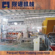 2800T Laminierboden Pressmaschine / Parkettboden Produktionslinie