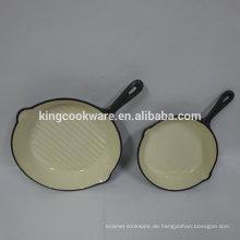 Moderne Küchendesigne aus Gusseisen mit Bratpfanne / Bratpfanne