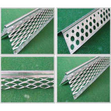 Metal expandido - Grânulo de ângulo, Grânulos de gesso, Galvanizado