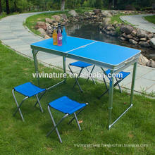 Camping Furniture Aluminium Camping Table Chair Set